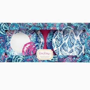 Lilly Pulitzer Appetizer Plates Gypsea Girl Set